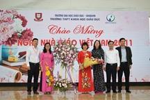 Hes long trọng tổ chức lễ kỉ niệm ngày nhà giáo Việt Nam 20.11